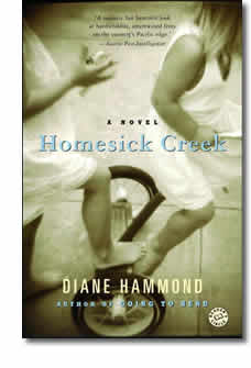 Book cover for Homesick Creek by Diane Hammond